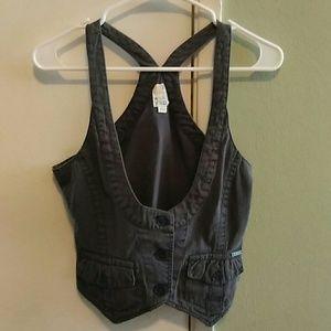 Gray Roxy vest